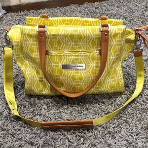 Other - Petunia Pickle Bottom diaper bag - yellow